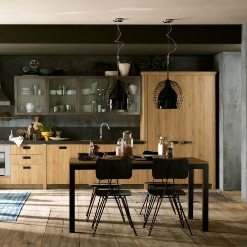 Falegnameria Fellini - Scavolini Rimini - cucina Diesel Social Kitchen