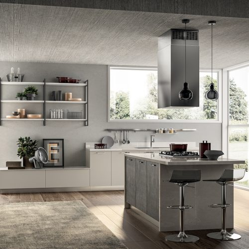 Falegnameria Fellini - Scavolini Rimini - cucina Sax