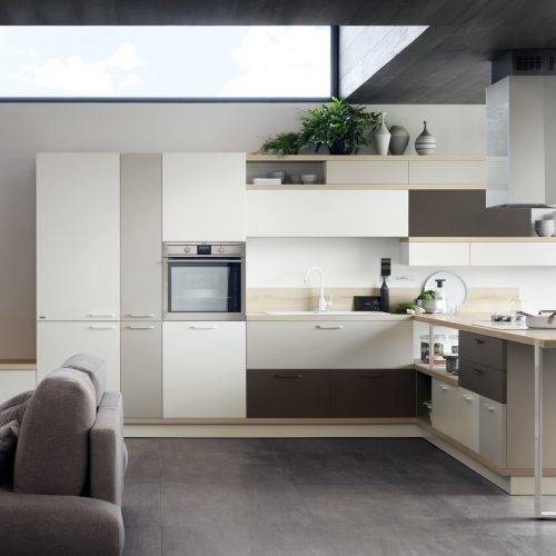 Falegnameria Fellini - Scavolini Rimini - cucina Foodshelf