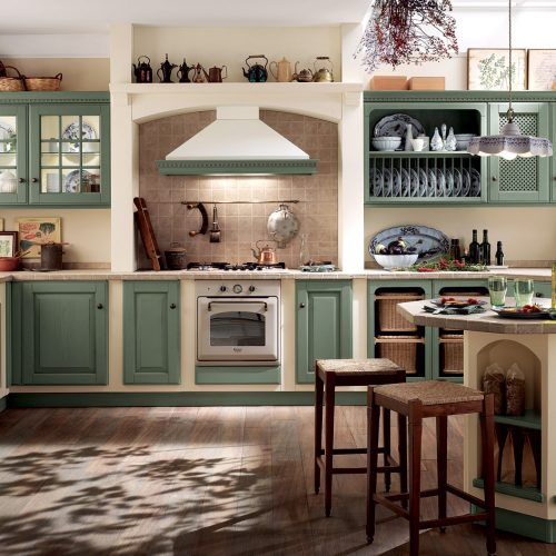Falegnameria Fellini - Scavolini Rimini - cucina Baltimora