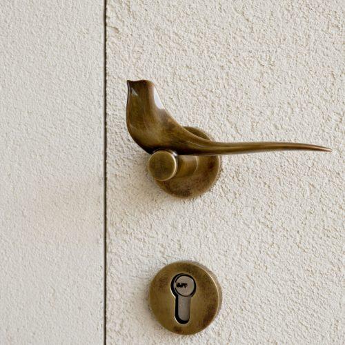 Porta da interno - dettaglio maniglia